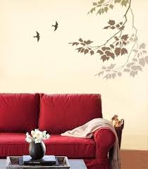 Simple Wall Painting Patterns Awesome Bedroom Paintings Paint Designs Living Room Stencils
