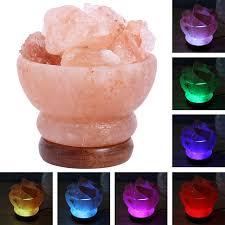 le de cristal de sel corne d abondance en forme de sel le de table en cristal