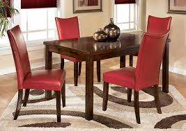 Charrell Red Side Chairs Set Of 2Signature Design By Ashley