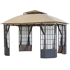 Shop Gazebos At Lowes.com Amazoncom Claroo Isabella Steel Post Gazebo 10foot By 12foot Outdoor Stylish Modern Sears For Any Yard Ylharriscom 10 X 12 Backyard Regency Patio Canopy Tent With Gazebos Sheds Garages Storage The Home Depot Perfect Solution Pergola This Hardtop Has A Umbrellas Canopies Shade Fniture Instant 103 Best Images About On Pinterest Pop Up X12 Curtains Framed