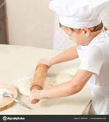 Baby Knead The Dough In Flour Photo By Alexander Safonov