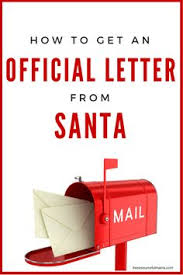 Santa s address to send your child s letters to