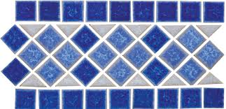 Waterline Pool Tile Designs by Borrego Springs National Pool Tile Group
