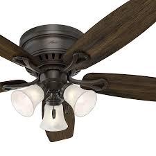 42 Ceiling Fan With Light Kit by Ideas Ceiling Hugging Fan Flush Mount Ceiling Fan Hugger Fans