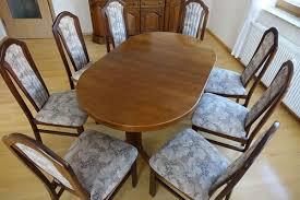 esszimmertisch mit 8 stühlen in neckarsteinach