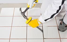 diy how to repair ceramic tile cracks dallas fort worth tx