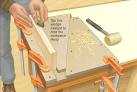 wedge style bench vise woodworking blog videos plans how to