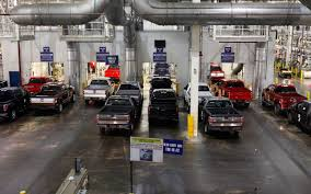 Ford To Boost Summer Production By Cutting Downtime - Truck Trend Ford Begins Retooling Dearborn Truck Plant For 2015 F150 Tour Photo Image Gallery Video Inside Fords Resigned Truck Plant To See How The F Meet Woman In Charge Of Building Bestselling Pickup Production At Video 2019 A Decade Sustainability Tnw Companion Descriptions Ieee Icps 2017 Celebrates Reopening Michigan Radio 100 Years Building Cars And Wealth Rouge Manufacturing Media Center Facing Complete Shutdown Production After Fire