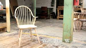 Wood Captains Chair Plans by How To Make A Windsor Chair By Warren Chair Works Youtube