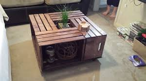 Introduction Crate Coffee Table