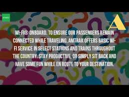 Does Amtrak Trains Have Bathrooms by Do All Amtrak Trains Have Wifi Youtube
