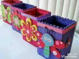 Art And Craft Ice Cream Sticks