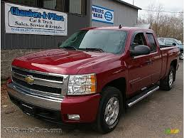 2007 Chevrolet Silverado 1500 LT Z71 Extended Cab 4x4 In Sport Red ...