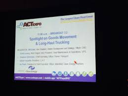 100 Trillium Trucking On Twitter Breakout Session 32 Is Underway At ACTExpo