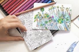 Adult Cityscape Coloring Books