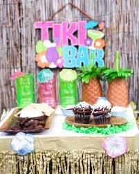 Teen Hawaiian Luau Party