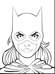 Amazing Batgirl Coloring Pages Printable With Catwoman And Batman