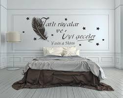 türkisches wandtattoo fürs schlafzimmer 68179