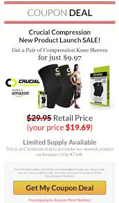 Crucial Compression Knee Sleeve Launch Coupon Discounts Coupons 19 Ways To Use Deals Drive Revenue Viral Launch Coupon Code 2019 Discount Review Guide Trenzy Commercial Plan 35 Off Code Used Drive Revenue And Customers Loyalty Take Advantage Of The Prelaunch Perk With Coupon Online Store Launch Get Your Early Adopter Full Review Amzlogy Vasanti Cosmetics Canada Celebrate New Website Bar Discount