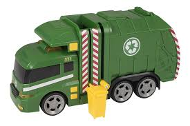 100 Rubbish Truck Teamsterz Large 14 Garbage Bin Lorry Light Sound