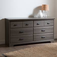 South Shore White Dressers by South Shore Versa 6 Drawer Double Dresser Gray Maple Home