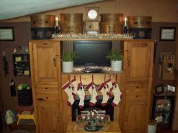 Primitive Living Room Furniture by A Primitive Homestead Christmas Living Room