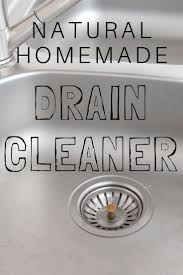 Homemade Drano Kitchen Sink by Best 25 Homemade Drain Ideas On Pinterest Diy Drain