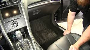 Weathertech Floor Mats 2015 F250 by Review Of The Weathertech Front Floor Mats On A 2015 Ford Fusion