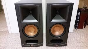Klipsch RB 75 black bookshelf speakers For Sale US Audio Mart
