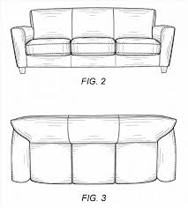 SofaSofa Side View Drawing Color Couch From The Profile Step By Curved Sofa