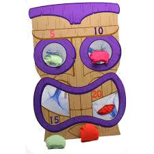 Tiki Bean Bag Toss Game