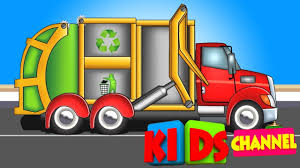 100 Garbage Truck Song Garbage Truck Song Kids YouTube