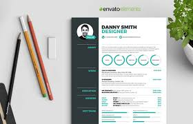 5 Pages Infographic Resume Template Envato Elements