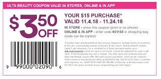Ulta Coupon Code Free Shipping Ulta Cyber Monday Sale Free 22piece Gift Advent Calendar On Free 10 Pc Lip Sampler With Any 75 Online Purchase 21 Days What I Just Bought At Ulta 3 By Linda Issuu Why Do So Many Coupon Sites Post Expired Promo Codes Hokivin Mens Long Sleeve Hoodie For 11 Ulta Beauty Coupons 100 Workingdaily Update September 2018 Cultures Health Coupons 20 Off Everything Coupon Is Having A Major Sale Before Black Friday 76 Items Under 5 Clearance Sale Get Shipping On Your Purchase Limit One Use Per Customer