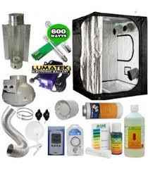 kit complet chambre de culture pas cher pack complet 600 et 1000 watts de 4 a 8 plantes