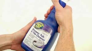 zep commercial shower tub and tile cleaner hd supply