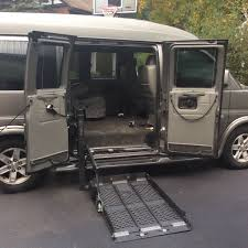 2011 GMC Explorer Conversion Wheelchair Van