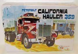 Peterbilt 359 California Hauler AMT 866 1/25 Scale New Truck Model ...