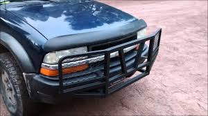 HOMEMADE CHEVY GRILL GUARD