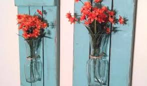 Full Size Of Vaseamazing Wall Flower Vase Holder A Pair Rustic Hanging Mason Large