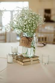 Rustic Wedding Centerpieces With Mason Jars