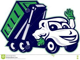 100 Roll Off Dumpster Truck Unloading Trash Container Stock Photo