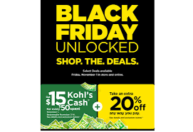 Kohl's: 1-Day Black Friday Sale & $15 Kohl's Cash For Every ... 30 Off Kohls Coupon Event Home Facebook Order Online Pick Up In Stores Today 10 50 6pm Codes 2015 Enjoy To 75 Discount Visually Mystery Code Did You Get A 40 Coupons And Insider Secrets Coupon How Five Best Worst Things Buy At 19 Secret Shopping Hacks For Saving Money Macys Cyber Monday 2019 Deals On Xbox One Fbit Shop Week Sale Cash Save Big Your With These Printable Discounts Promo 20 5pm Promo Code Las Vegas Groupon Buffet