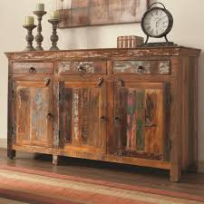 Coaster Curio Cabinet Assembly Instructions by Accent Cabinet By Coaster In Reclaimed Wood