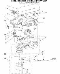 Kitchenaid Mixer Parts Diagram Unique Furniture Awesome Models Stand Juicer And