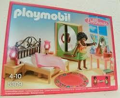 playmobil dollhouse schlafzimmer mit schminktischchen 5309 neu ovp möbel