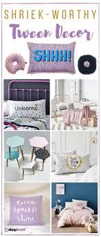26 Shriek Worthy Decor Essentials For The Tween Bedroom