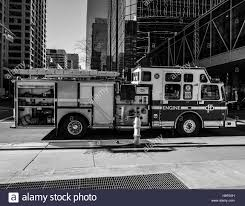 Black And White Firetruck Stock Photos & Black And White Firetruck ...