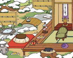 Next Is The Zen Style Now It May Not Look Like Much But In Reality If You Closely Can See That Pond Has Been Frozen Over