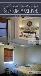 Small Condo Budget Bedroom Makeover Before After